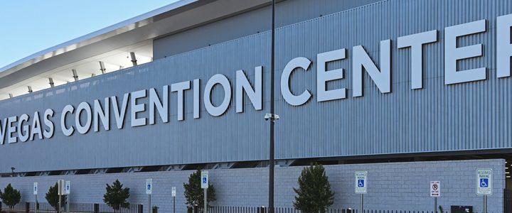 Ad Art Sign Co., AdArt, Full Service Signage, LED Lighting, Digital Signage, Public Sector, LVCC, Las Vegas Convention Center, Exterior Building Signage, Exterior Signage Program, Aluminum, Metal Fabricated Letters, Identification, Directional, Freestanding Monuments,